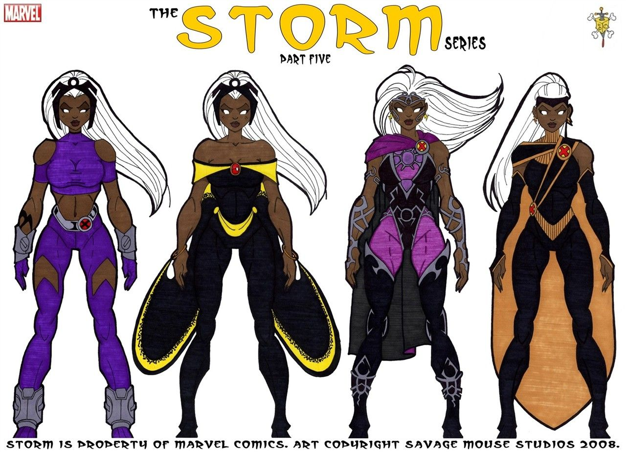 storm x men 2008 | Storm X Men Evolution Costume Storm series part five by & storm x men 2008 | Storm X Men Evolution Costume Storm series: part ...