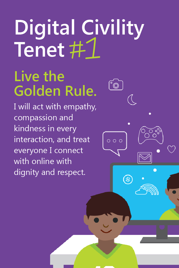 The Digital Citizenship Campaign was launched in honor of Safer Internet Day and offers a number of resources, including guidelines for educators and commentary from experts. Check it out here.