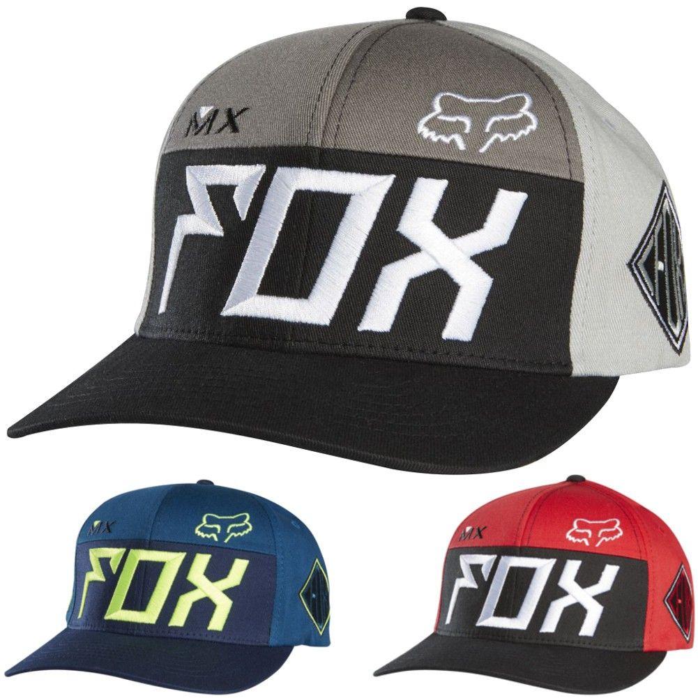 Dp fox exhaust flexfit hat summer outfits men hats