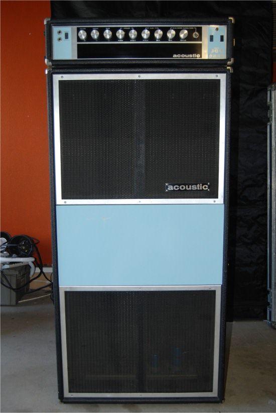 vintage acoustic amplifiers rare vintage acoustic 360 power amplifier speaker james brown. Black Bedroom Furniture Sets. Home Design Ideas