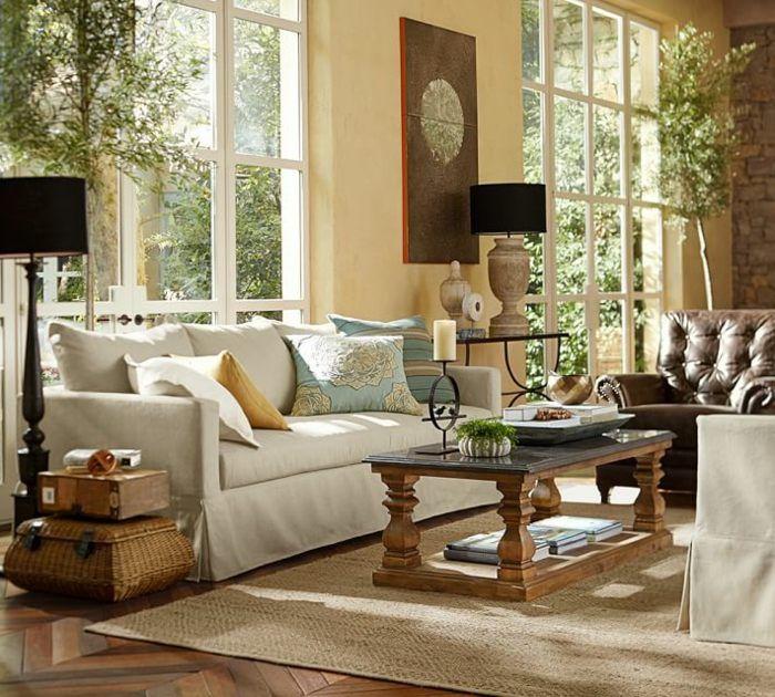 Wohnzimmer einrichten - Accessoires im mediterranen Wohnstil ...