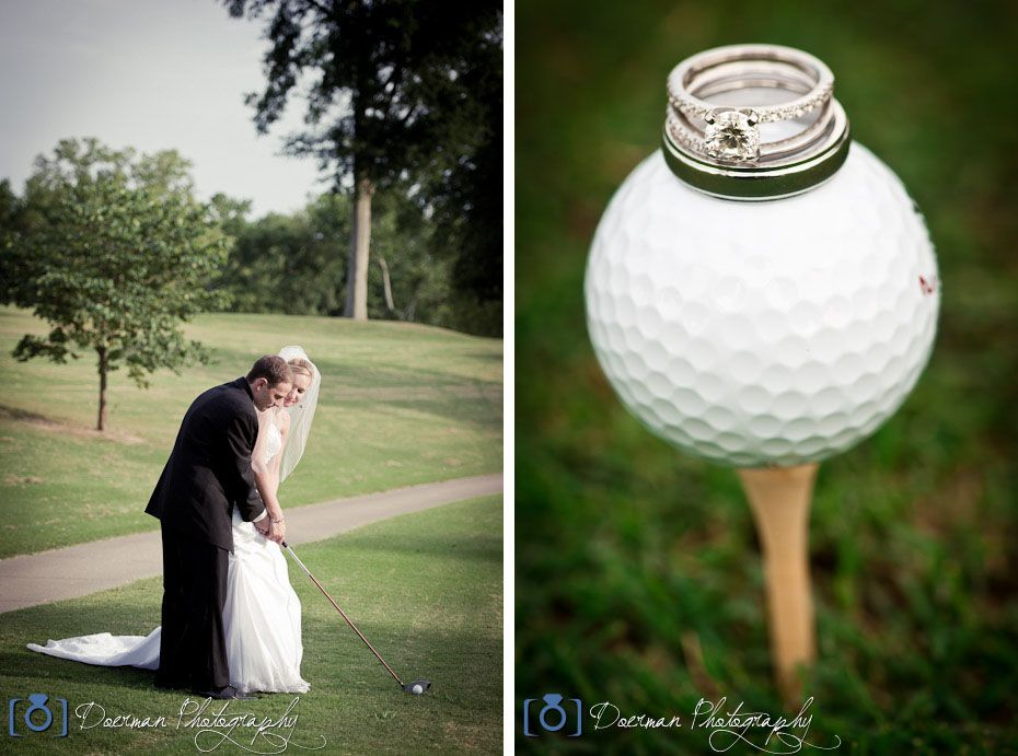 Wedding Golf Course Old Hickory