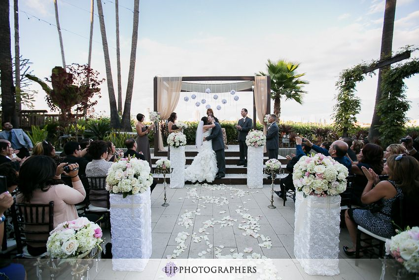 Hotel Maya Long Beach Wedding Arturo Arlene Repinned