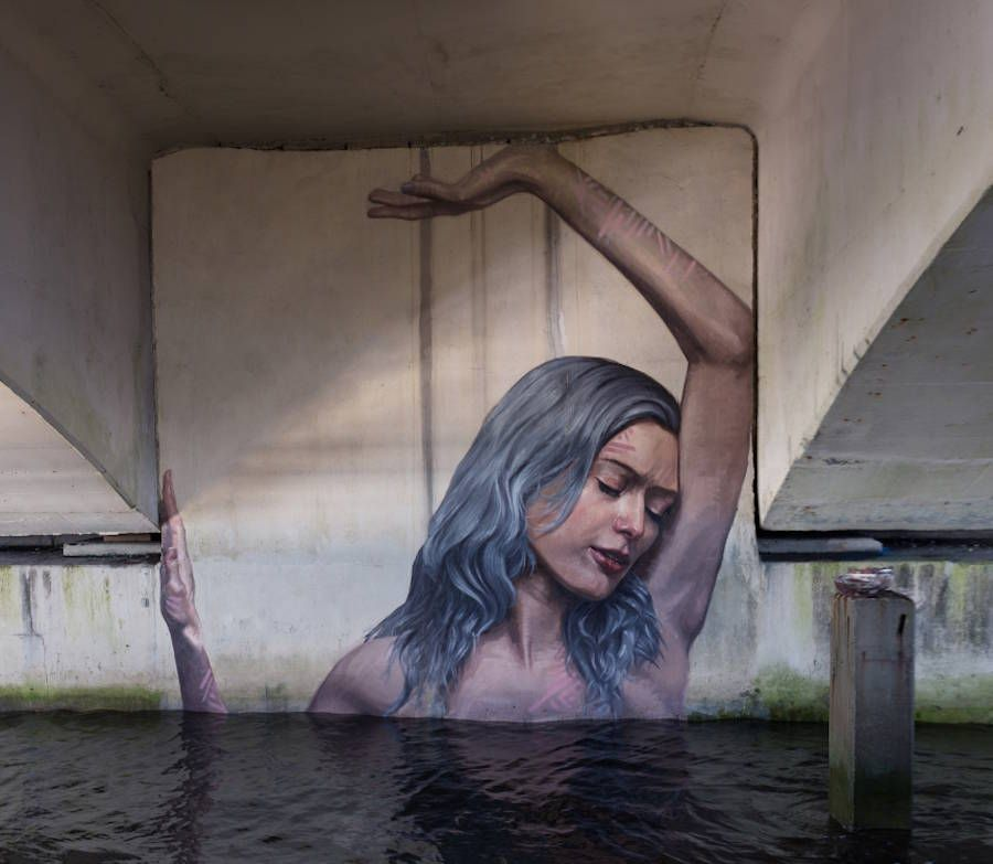 New Women Portraits in Unexpected Places by Hula – Fubiz Media