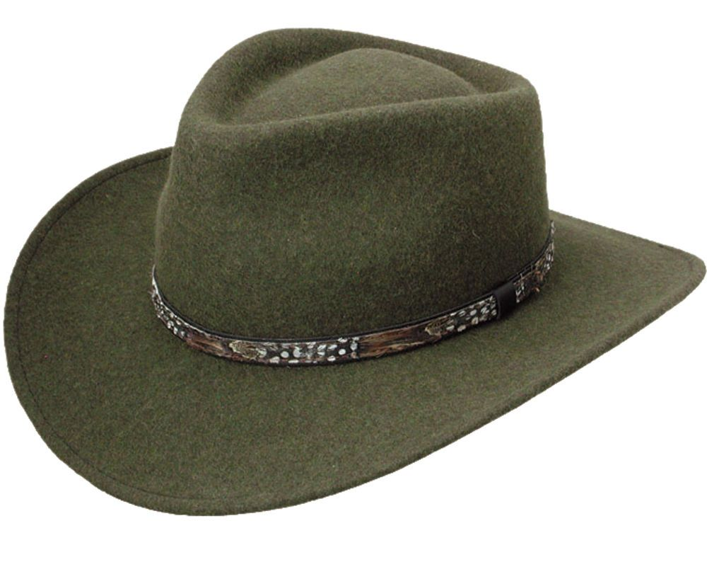 Stetson Expedition Crushable Wool Pinch Front Western Hat USA MADE  Stetson   CowboyWestern 5441964662d
