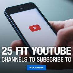 If you enjoy watching videos on YouTube and working out it might be time to subscribe to some fitnes...