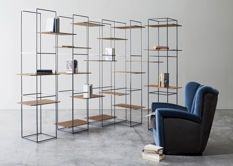 Tt Shelves And Table With Floating Surfaces By Ron Gilad Design