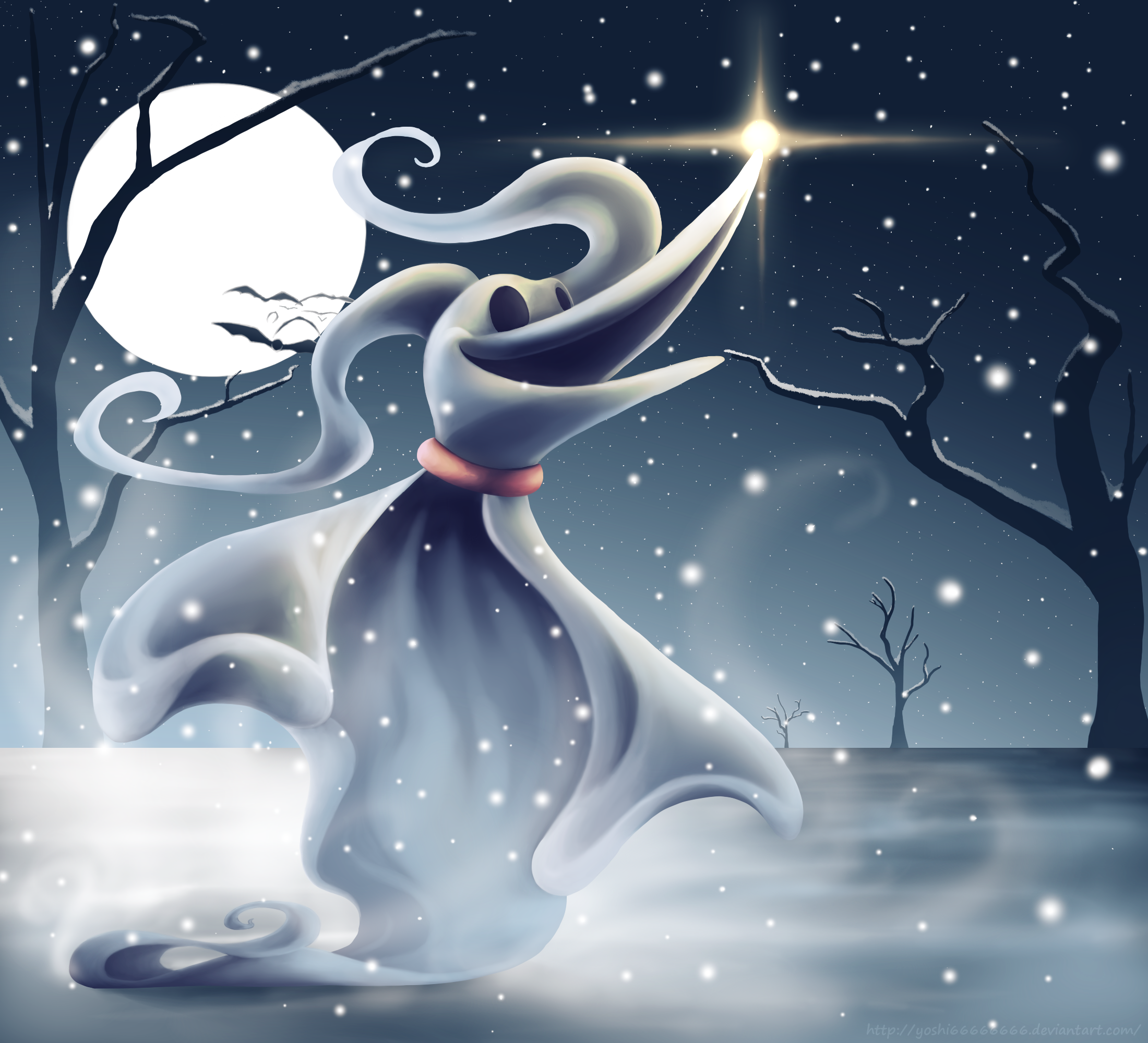 Snow By Yoshi66666666 On Deviantart Nightmare Before Christmas Wallpaper Nightmare Before Christmas Tattoo Nightmare Before Christmas Drawings