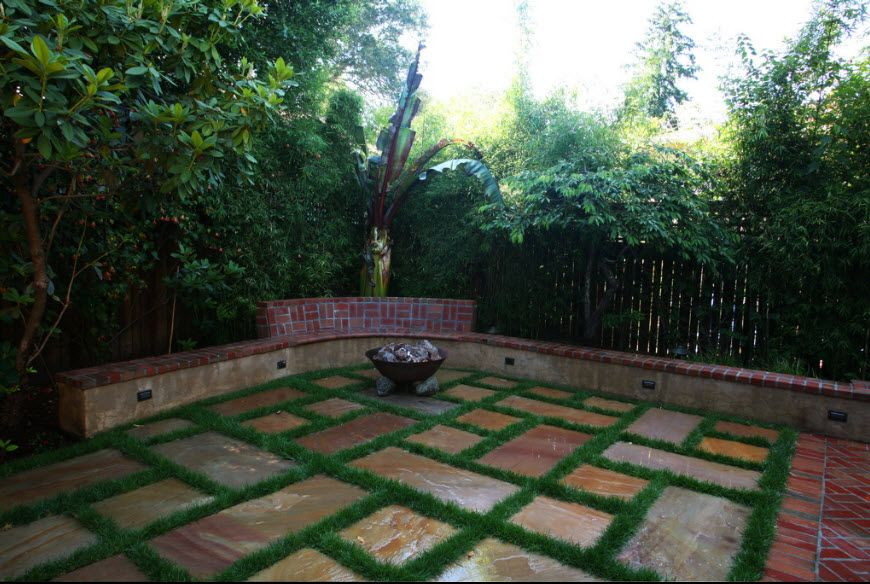 patios courtyards residential landscape design construction