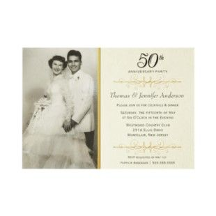 Elegant 50th anniversary party ideas 50th wedding anniversary elegant wedding anniversary party invitations by find this pin and more on 50th wedding anniversary ideas solutioingenieria Gallery