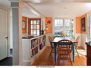 Half Wall Room Divider image result for half wall bookcase room divider | library room