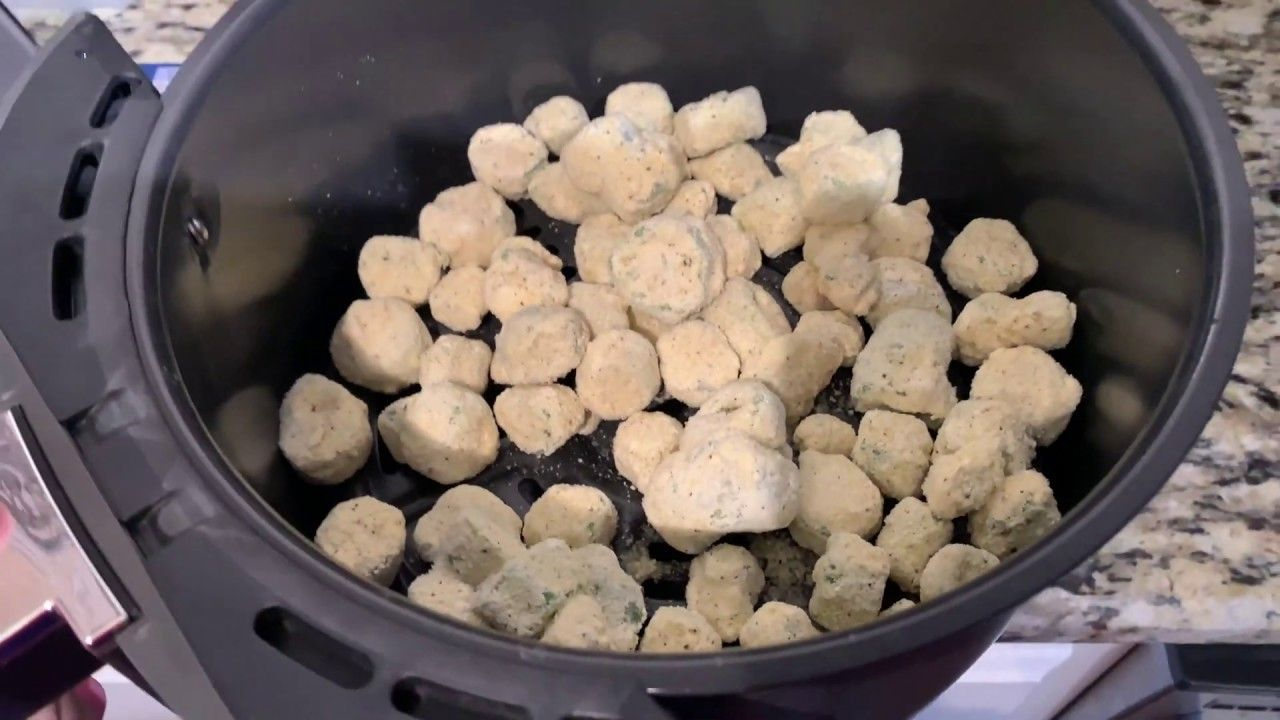 Air Fry with IrixGuy How to Air Fry Frozen Breaded Okra