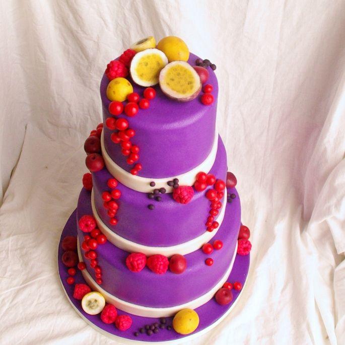 unusual bridal cake!