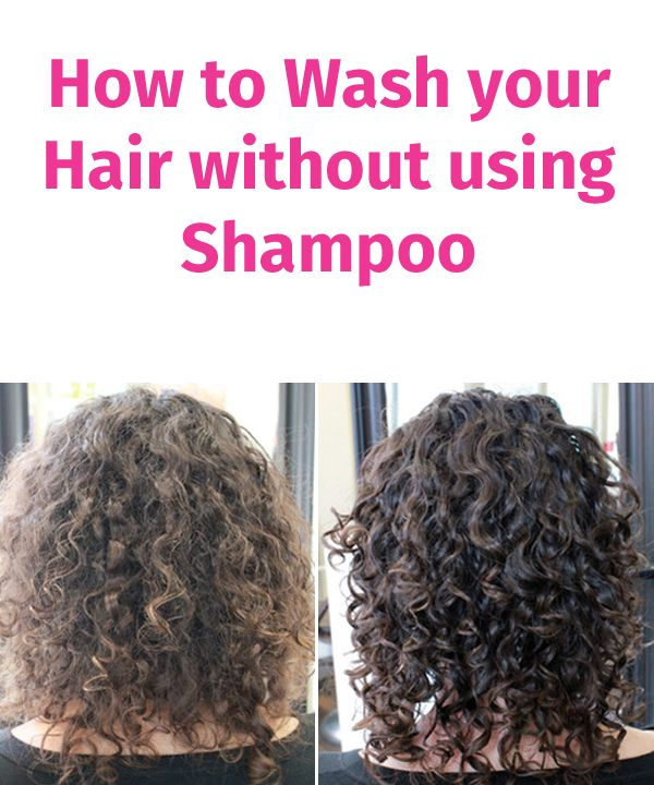 How To Wash Your Hair Without Using Shampoo Bella Ladies Hair Without Shampoo Washing Hair Without Shampoo Shampoo For Curly Hair