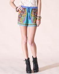 Shorts have a Tassel Tie - CUTE!