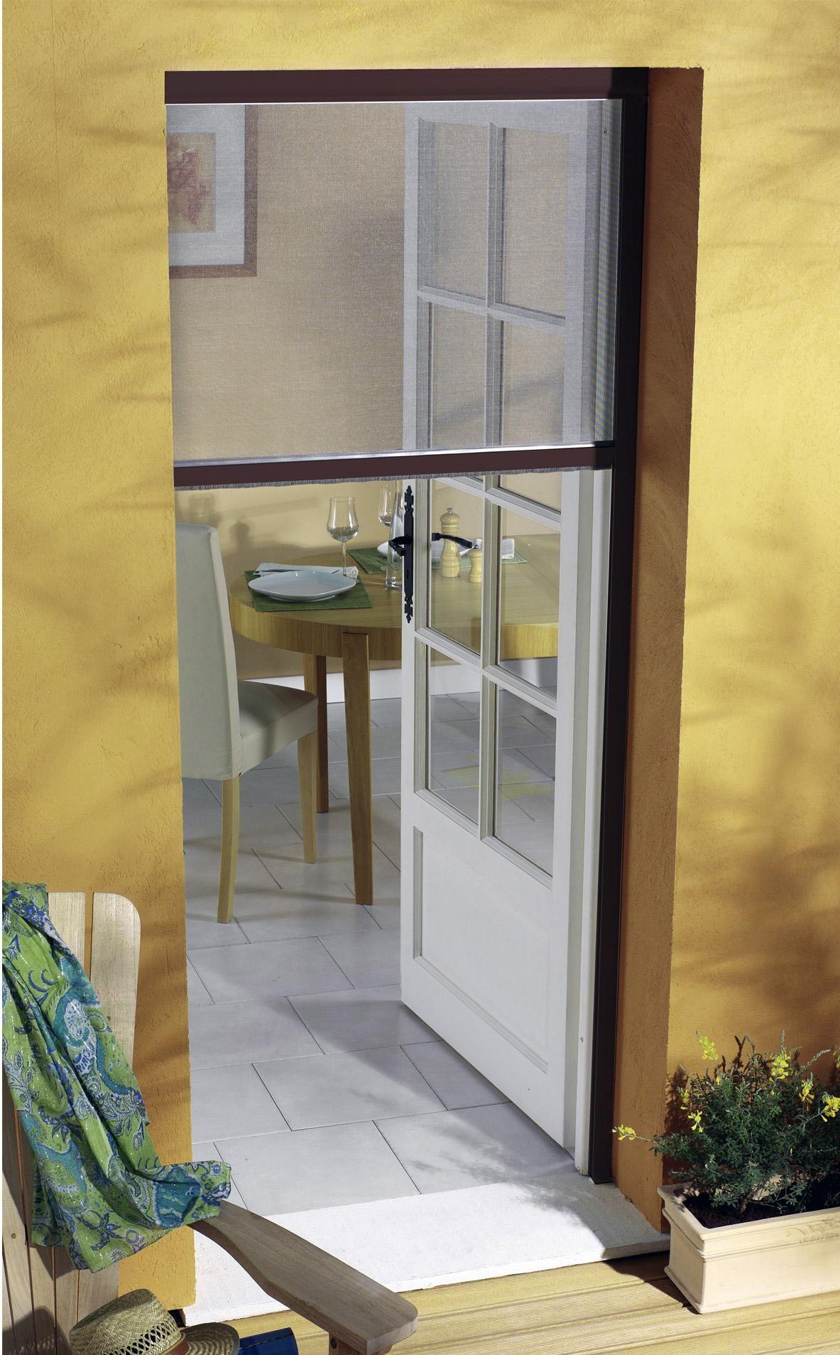 Moustiquaire Pour Porte Fenetre A Enroulement Vertical Moustikit H 230 X L 125cm En 2020 Moustiquaire Porte Fenetre Moustiquaire Pour Porte Porte Fenetre