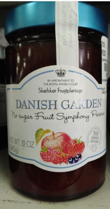 Danish Garden No Sugar Fruit Symphony Preserves | PeaNut ers ...