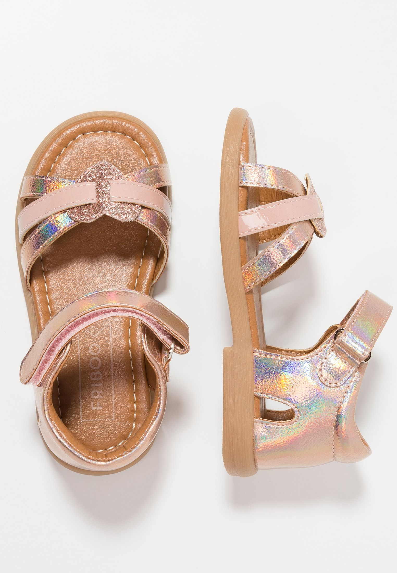 Friboo Sandals - rose gold - Zalando.co