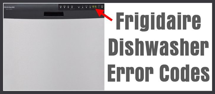 Frigidaire Says Error Code Er Along With Other Lights On Applianceblog Repair Forums