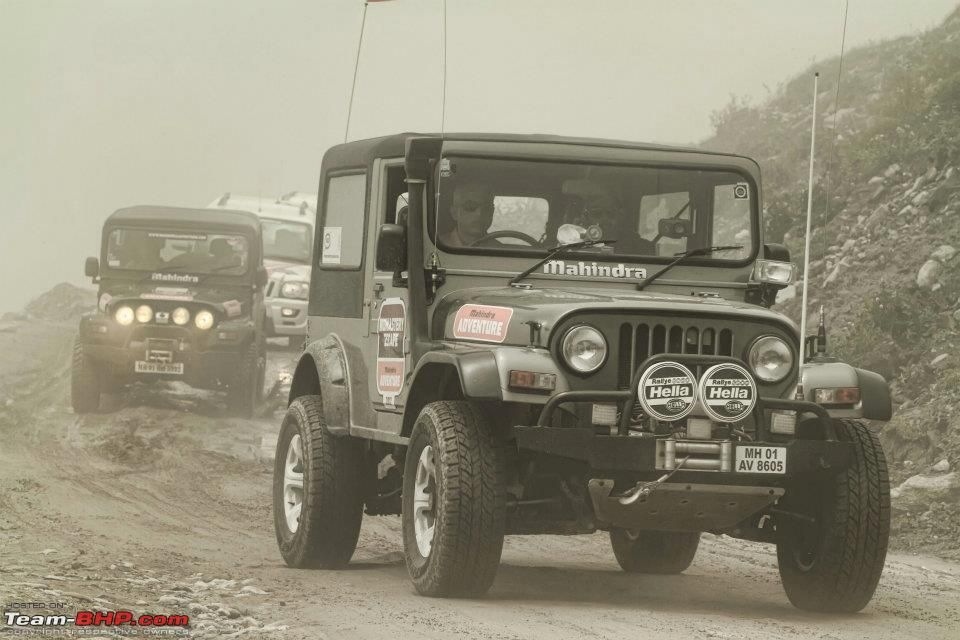 Mahindra Thar At The Mahindra Great Escape Event Range Rover
