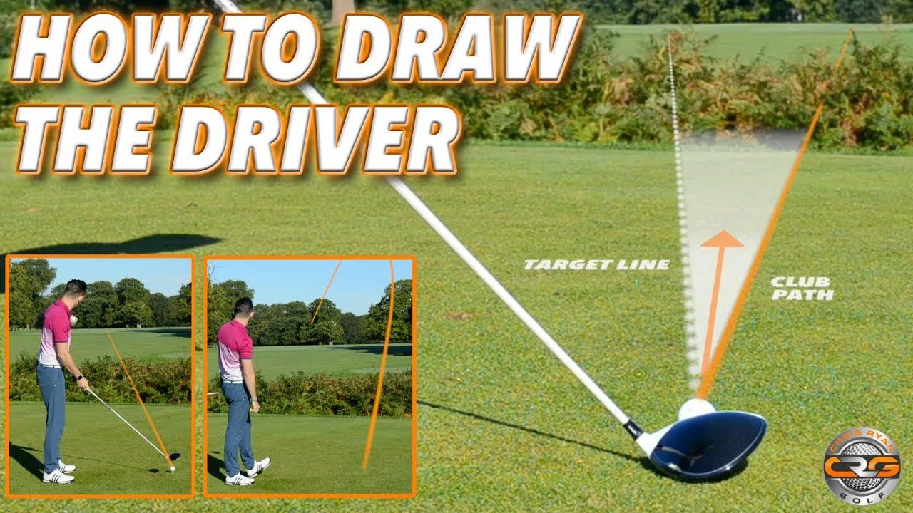 How to hit a draw with the driver youtube golf lessons