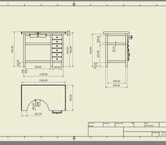 plan tabli de bijoutier suite la pr sentation de micka bancadas ourives pinterest. Black Bedroom Furniture Sets. Home Design Ideas