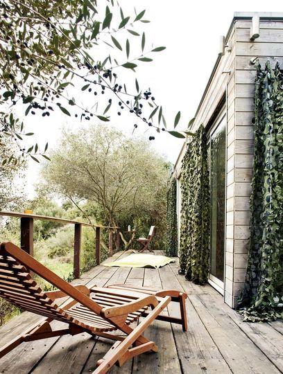 Terrasse en bois  14 photos pleines de charme Balcony gardening - construction d une terrasse bois