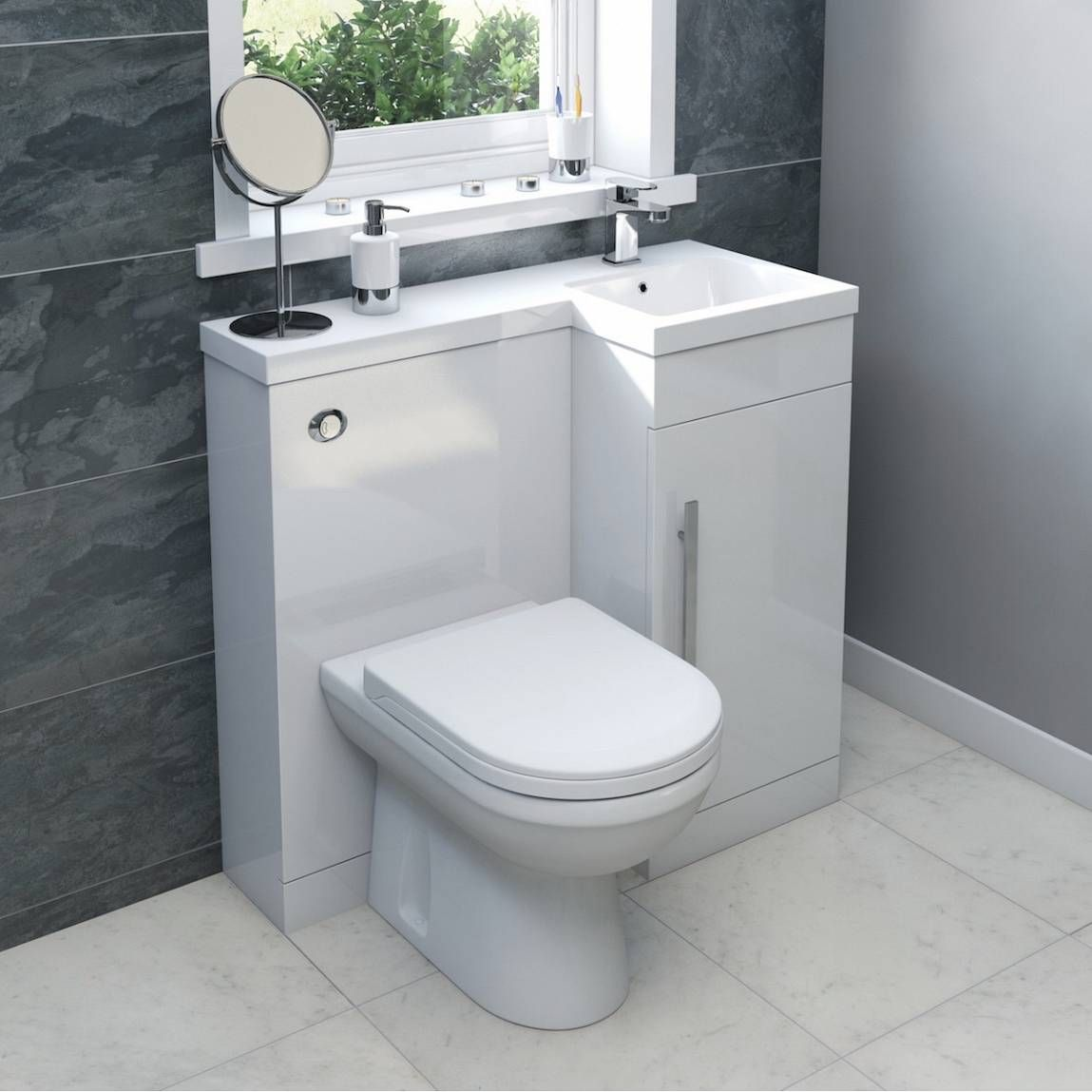 Bathroom Accessories Victoria Plumb myspace white combination unit rh with autograph btw toilet
