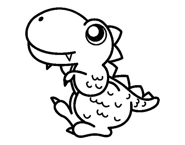 Dibujo de Estegosaurio de perfil para colorear | manualidades pa los ...
