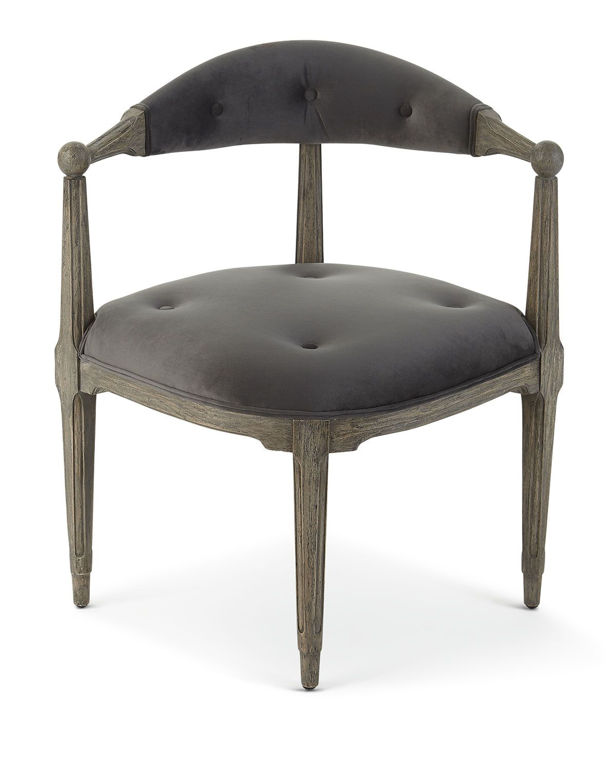Brenna corner accent chair dining room accent chairs
