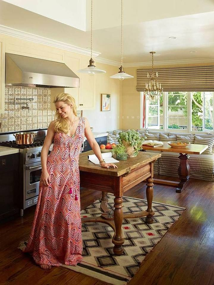 """Jennifer Morrison - PHOTOSHOOT 2013 """"50 Celebrity Rooms to Be Inspired By""""  © Credit photos: Eric Piasecki Photography."""