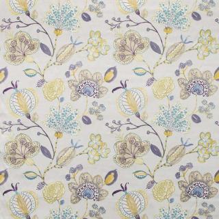 Newbury Seaspray Warwick Fabrics Couch Fabric Floral Curtains