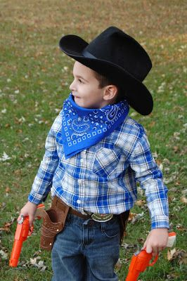 94d883f431e4d Easy Cowboy Halloween Costume | Holiday! Celebrate! in 2019 | Boy ...
