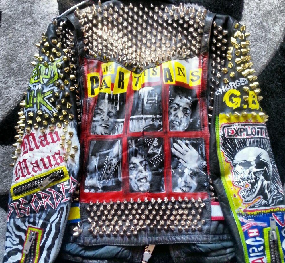 Leather jacket punk - Denim Jackets