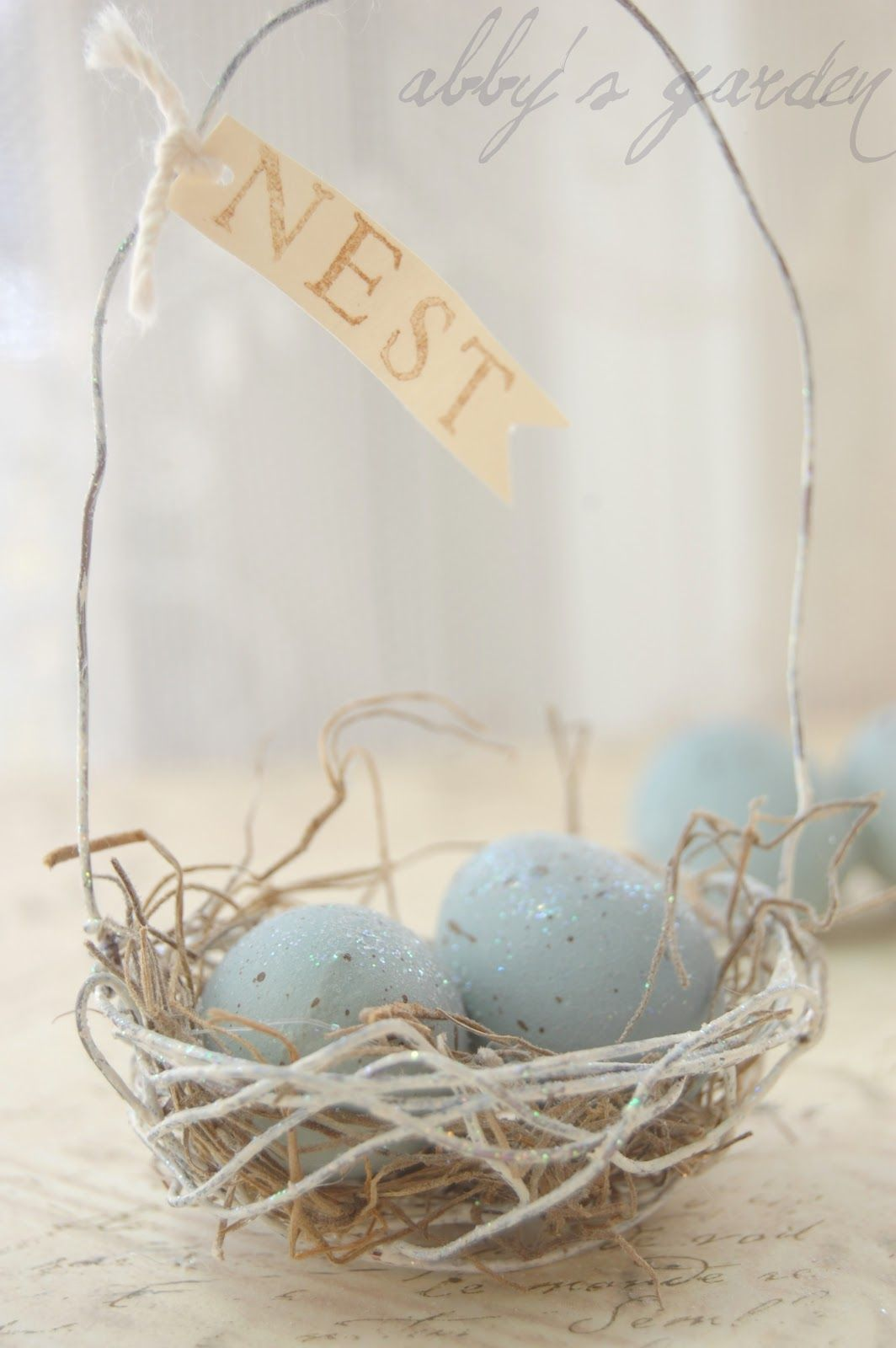 Easter Basket #spring #shabby #easter | HE is Risen! | Pinterest ...