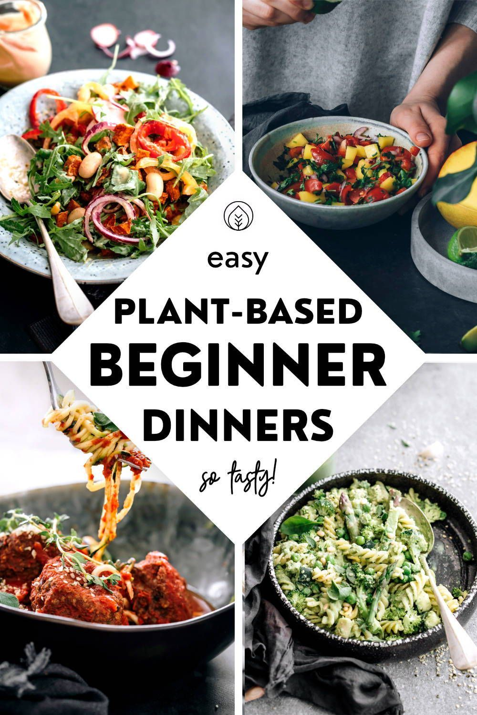 Quick Simple Vegan Recipes For Beginners And Busy People In 2020 Vegan Recipes Easy Quick Vegan Meals Healthy Vegan Recipes Beginner