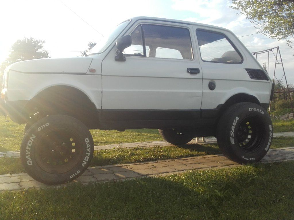 Fiat 126 Maluch Tunning Fiat 126 Fiat Modified Cars