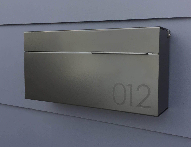 16 Sleek Handmade Modern Mailbox Designs To Complement Your
