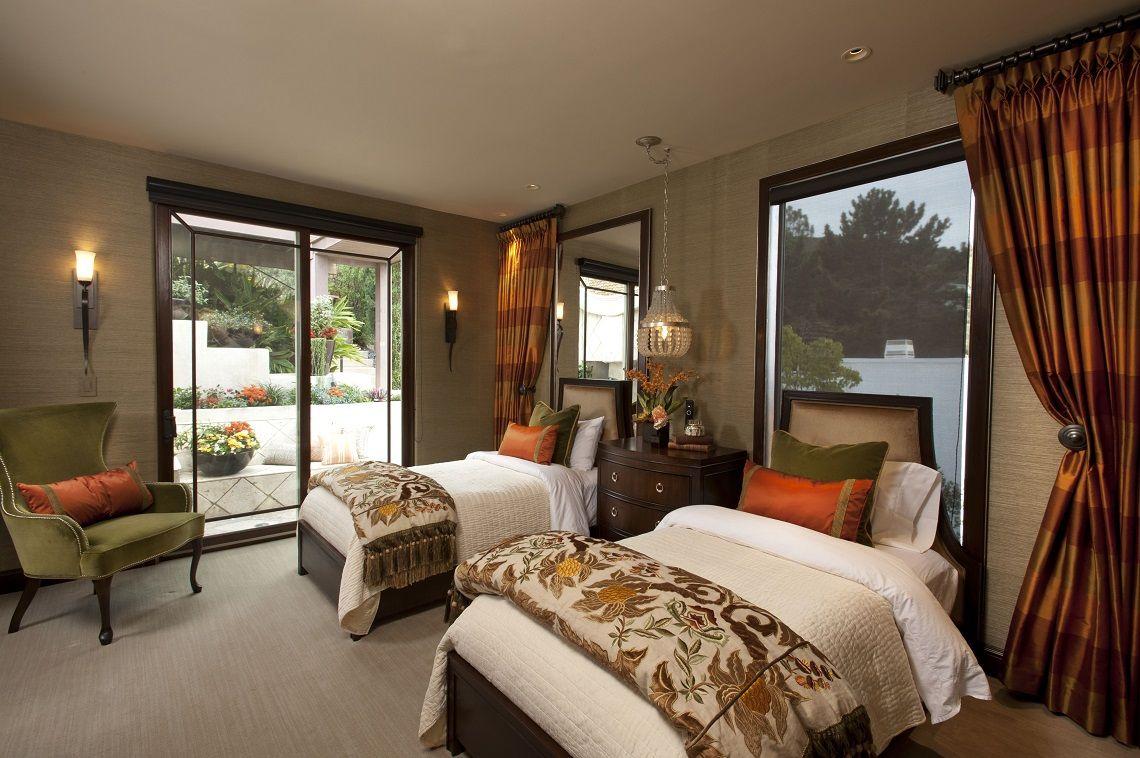 La Jolla Luxury Guest Room 3 Robeson Design San Go Interior Designers