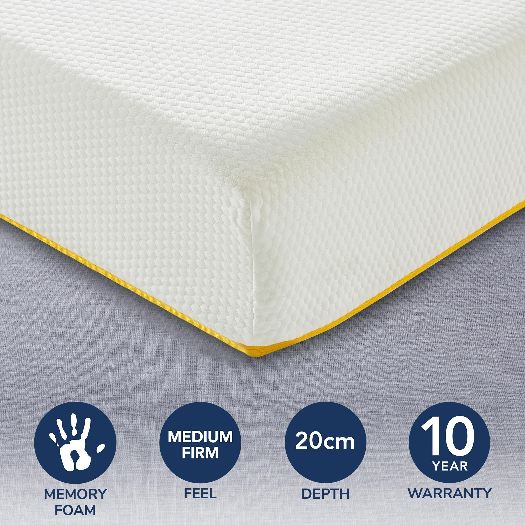 Eve Light Memory Foam Mattress In 2020 Foam Mattress Memory