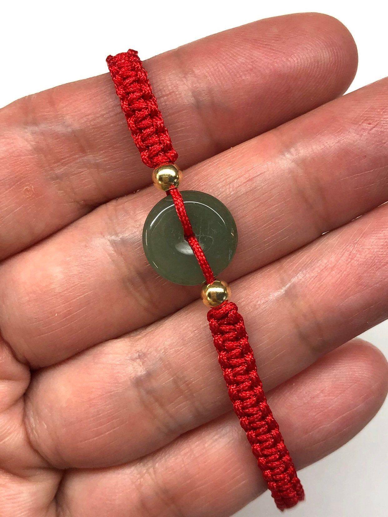 Jade bracelet chinese lucky bracelet good luck bracelet