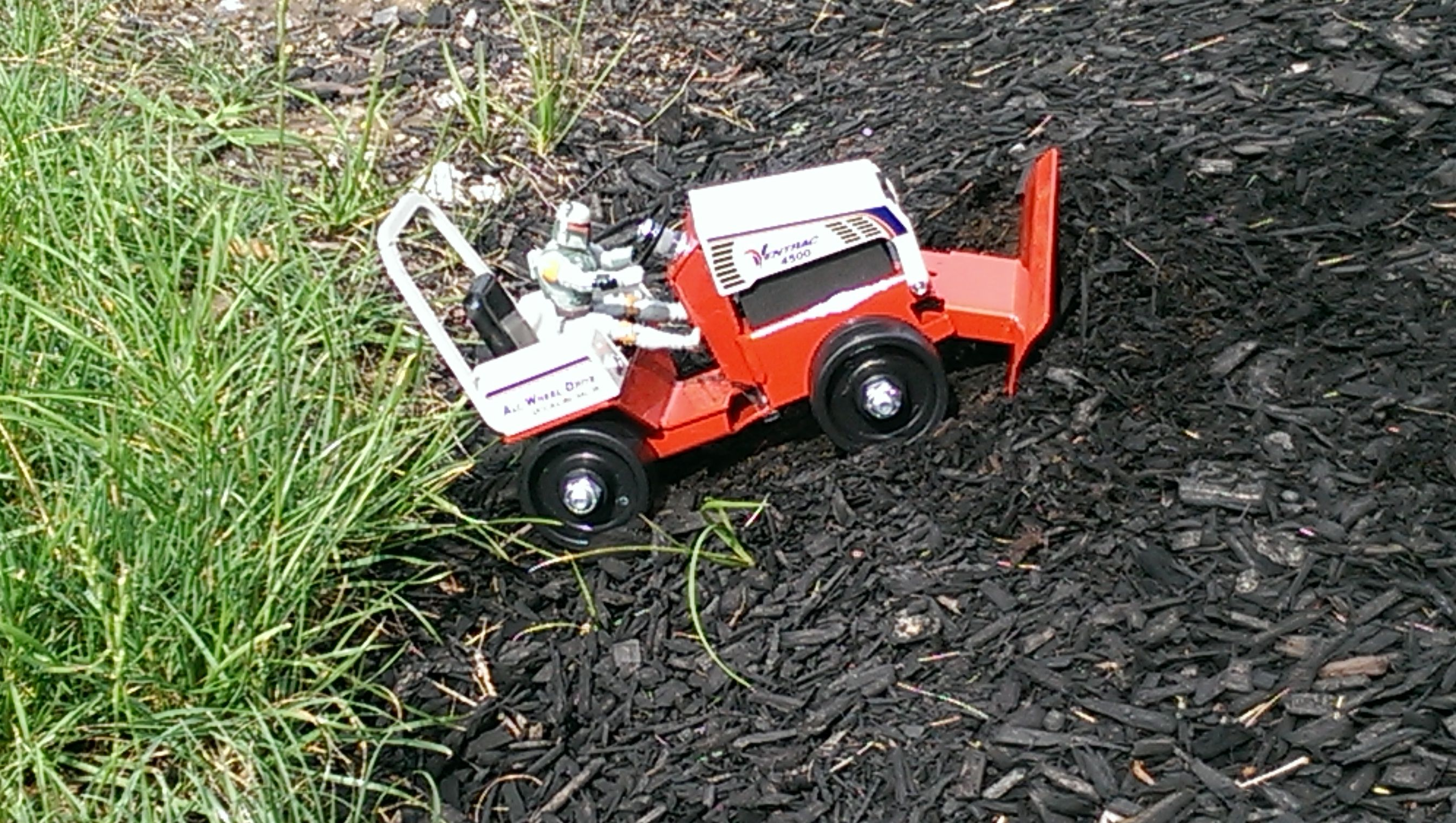 Boba Fett prefers Ventrac over any other tractors. He ...