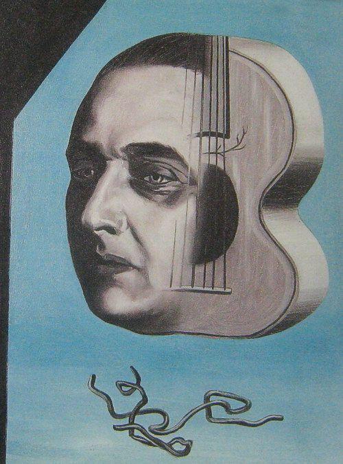 René Magritte - Portrait of Paul-Gustave Van Hecke (1927). More ...