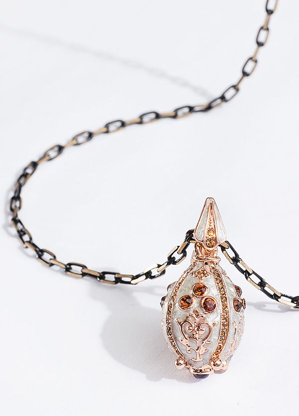 Gorgeous Faberge Egg Necklace from JewelMint   Jewelry