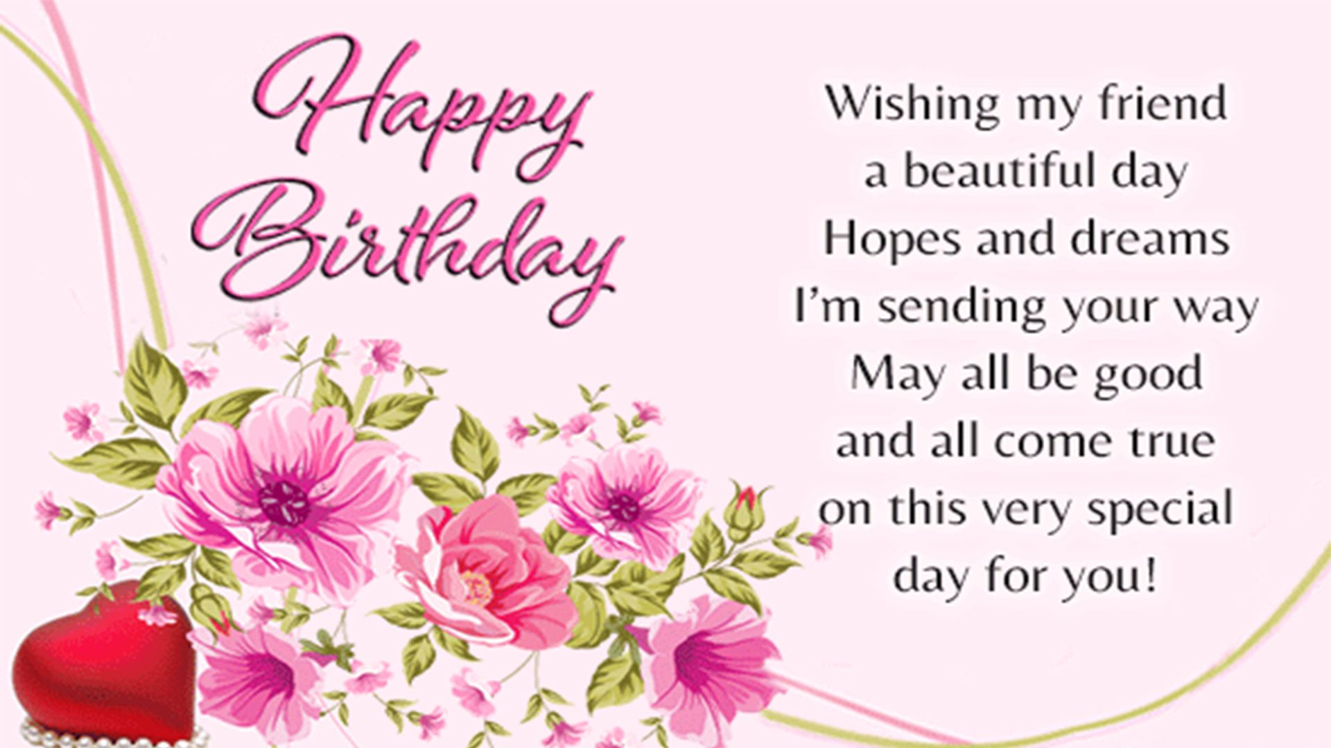 Peachy Happy Birthday Friend Hd Images Pictures With Images Happy Personalised Birthday Cards Veneteletsinfo