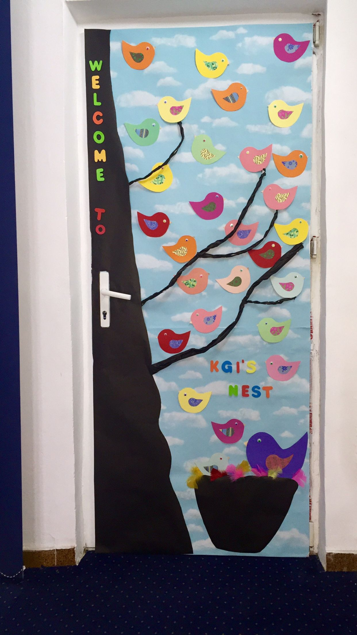 Kindergarten Csb Cambridgeschool Bucharest Door