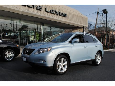 Light Blue Lexus Rx 350 My Dream Mom Car