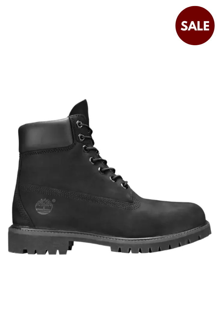 All Black Timberlands Shoes - Unisex 6