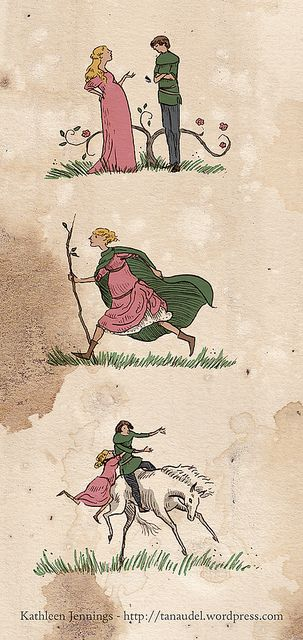 Illustration Friday Capable Tam Lin Fairy Tales Fairy