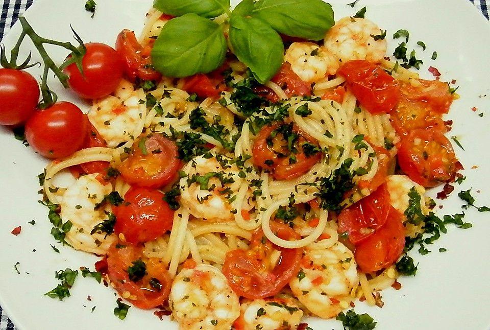 Spaghetti mit Chiligarnelen (Rezept mit Bild) von Saya1981 | Chefkoch.de